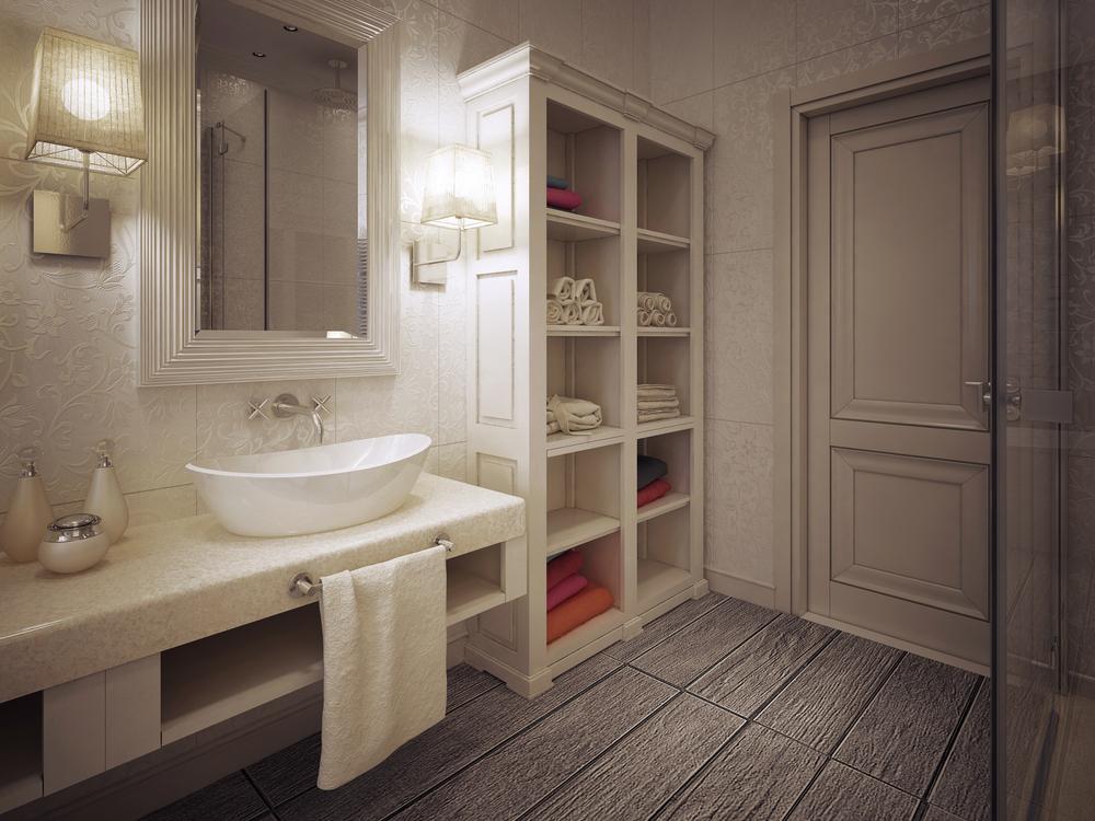 Старомодная ванная