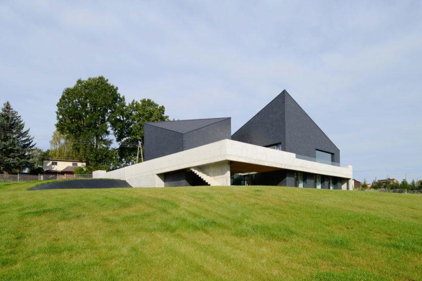 Дом в Кростошовицах от RS + Robert Skitek (3)