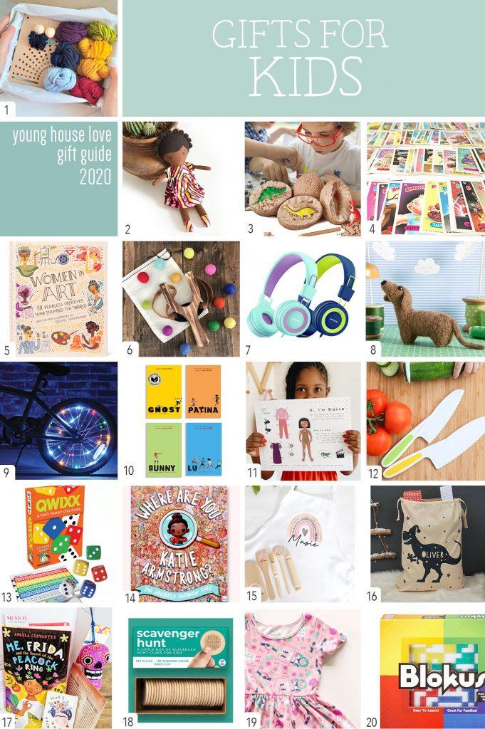 Подарки для детей Коллаж Рисунок