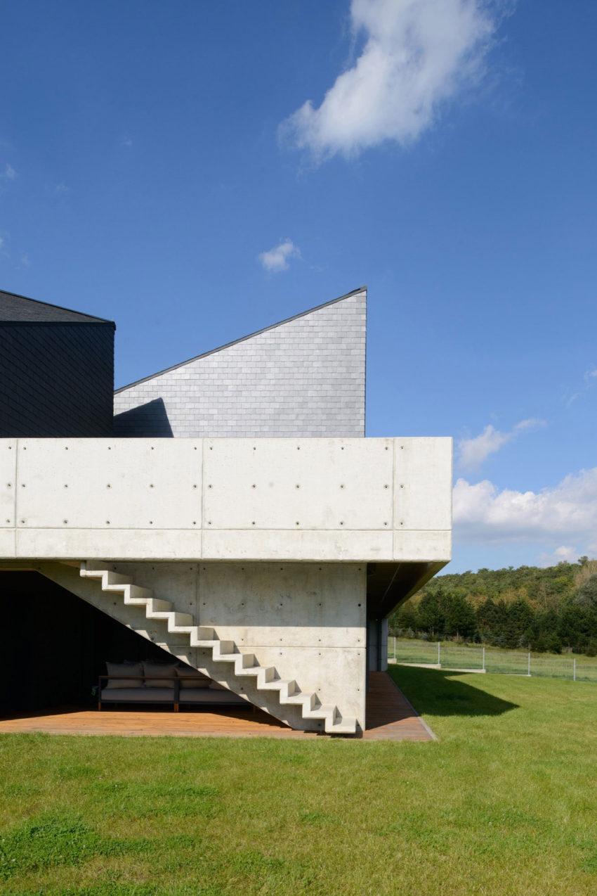 Дом в Кростошовице, автор RS + Роберт Скитек (5)