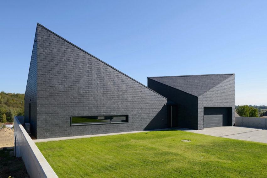 Дом в Кростошовицах, автор RS + Роберт Скитек (7)