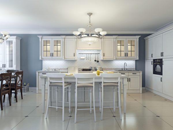 Дизайн кухни для пожилых людей