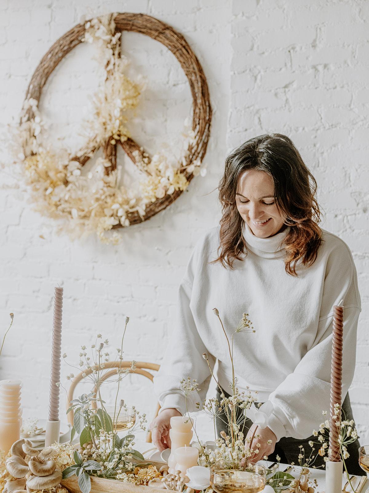 мир любовь и грибы кокосовый келли праздничный стол 2020