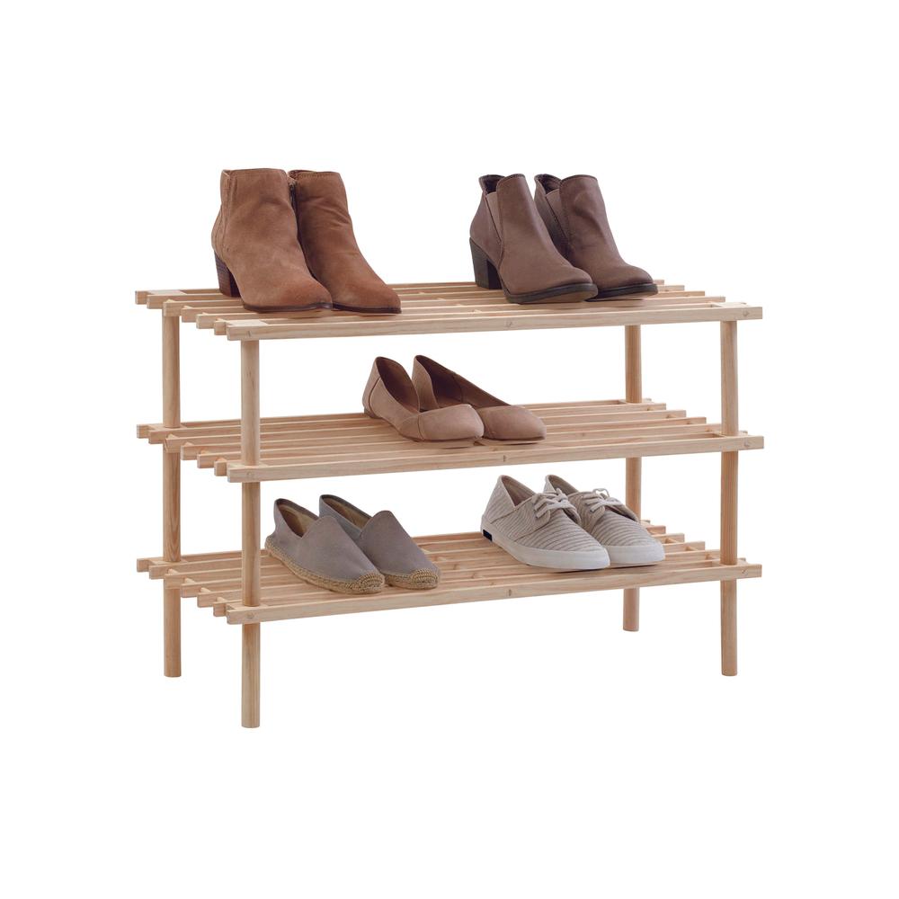 Трехуровневая организация обуви