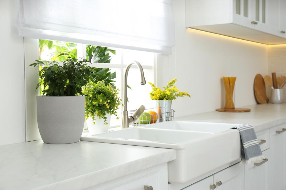 Кухонная мойка в фермерском стиле