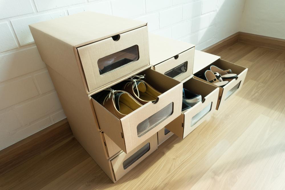 вверх ящик для обуви для велосипеда