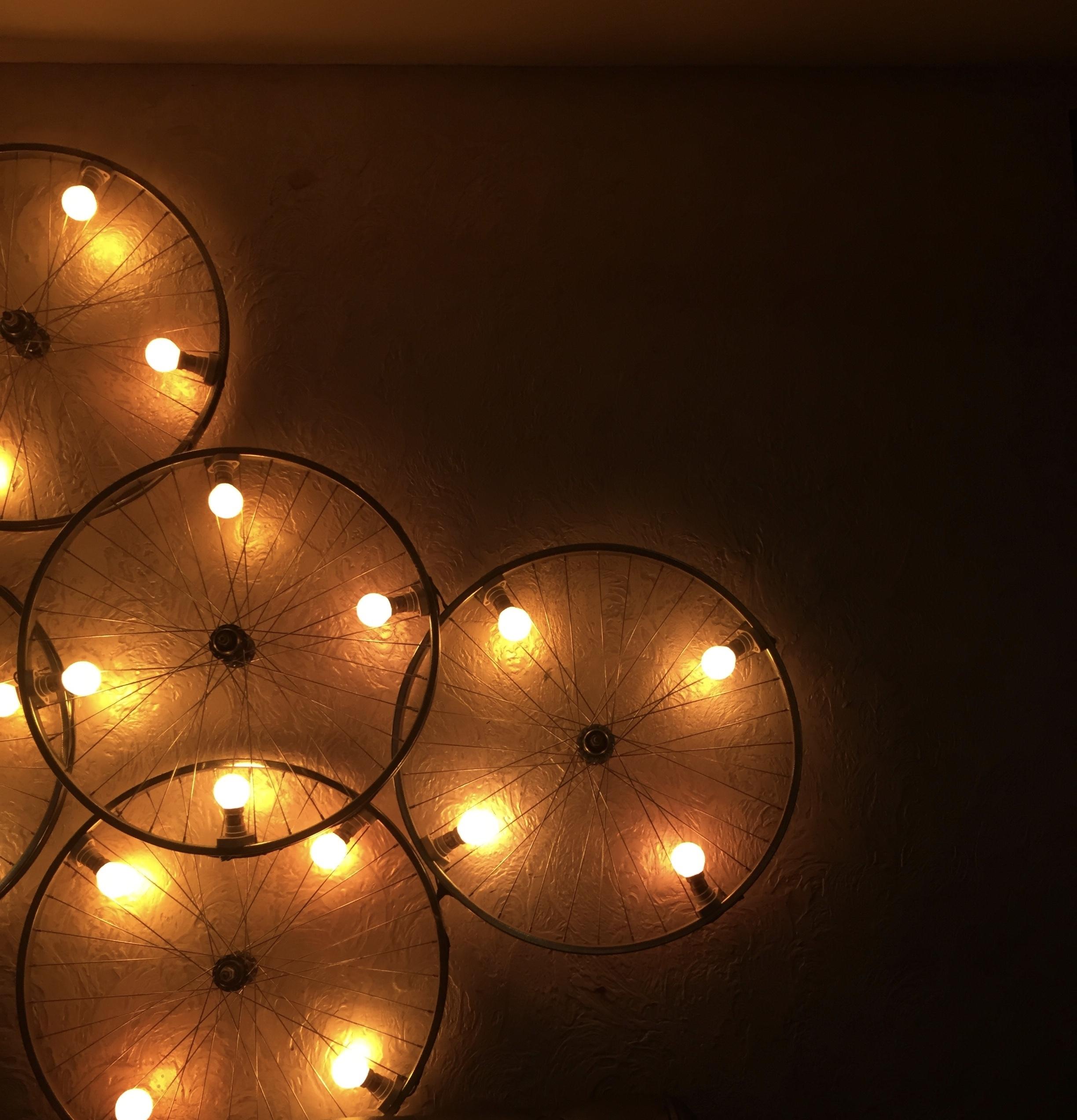 Осветительное украшение для дома