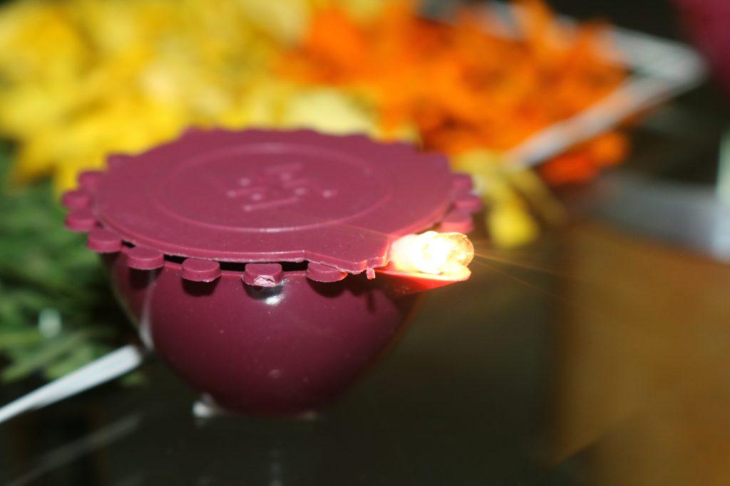 Лампа Пуджа
