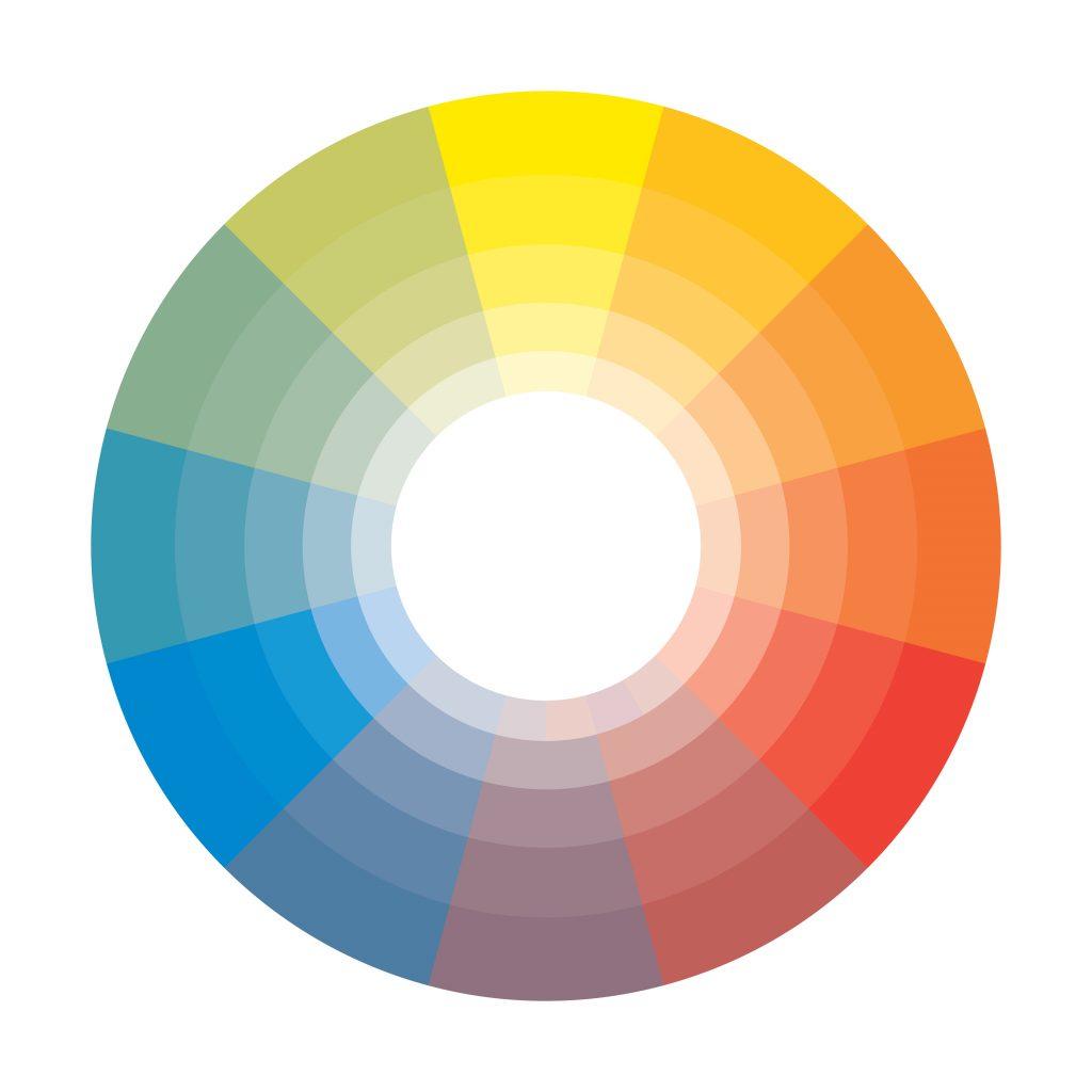 выбирайте цвета, как дизайнер интерьера