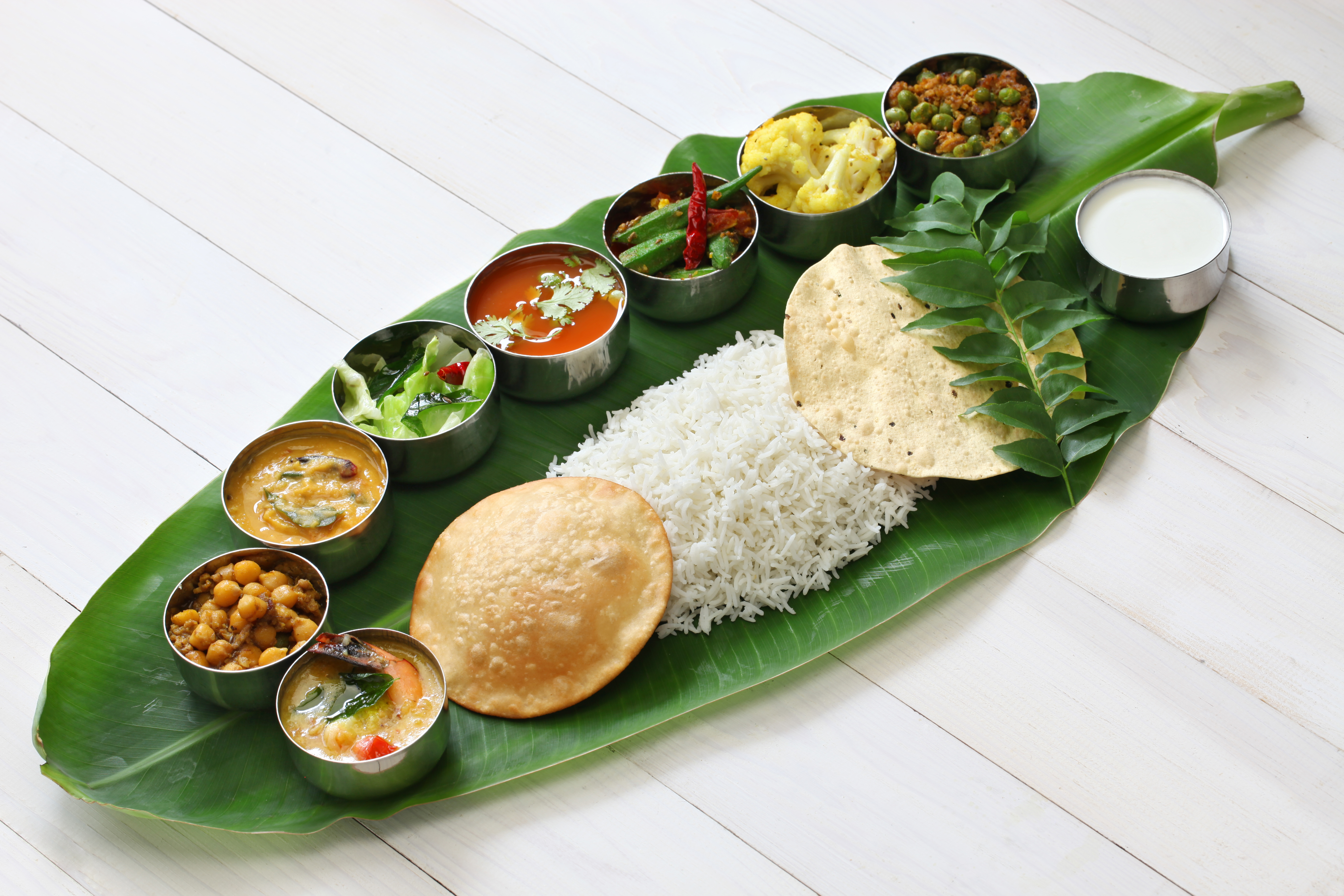 Традиционная южно-индийская еда