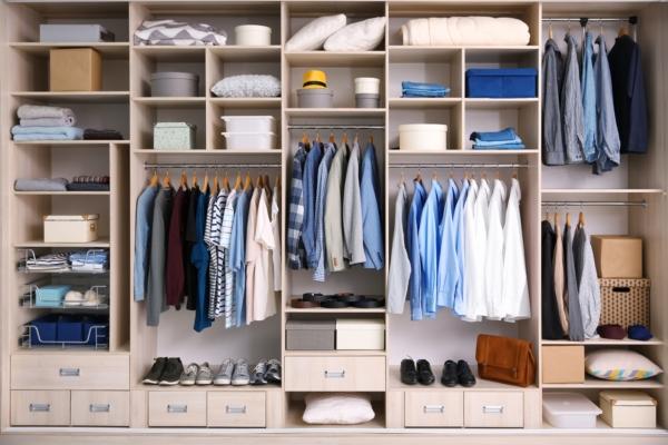 Как максимально увеличить объем хранения в гардеробе