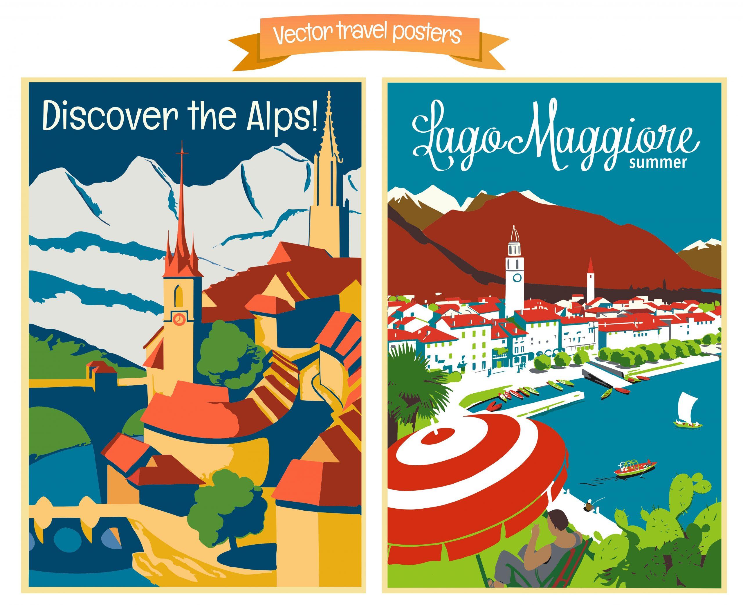 Туристические плакаты для дома