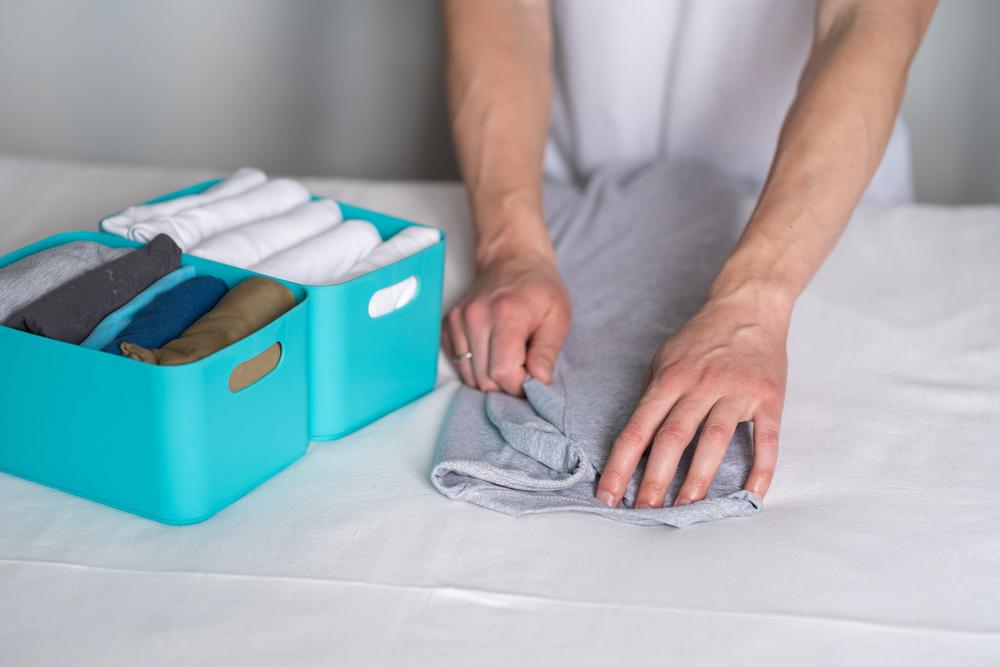 советы по складыванию ткани