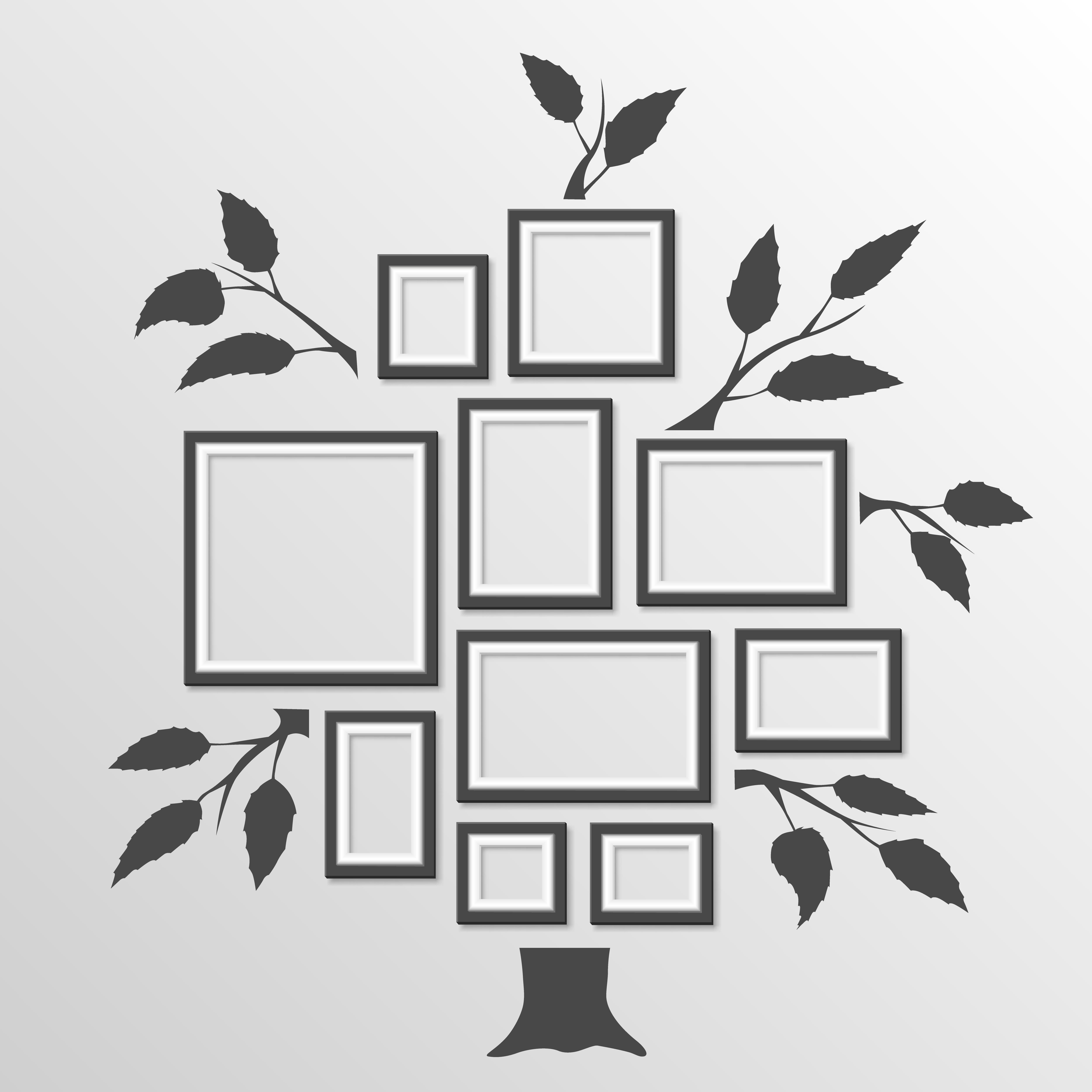 фоторамка семейное древо