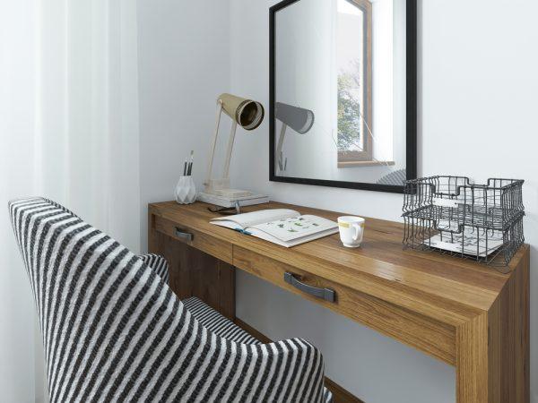 современный дизайн туалетного столика