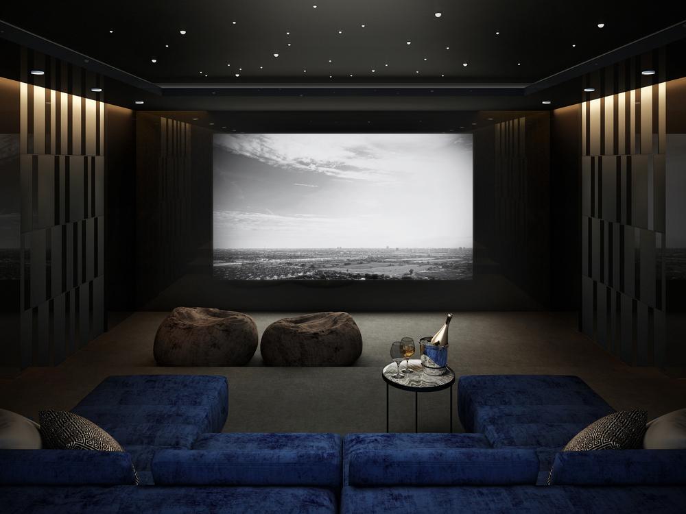 освещение домашнего кинотеатра