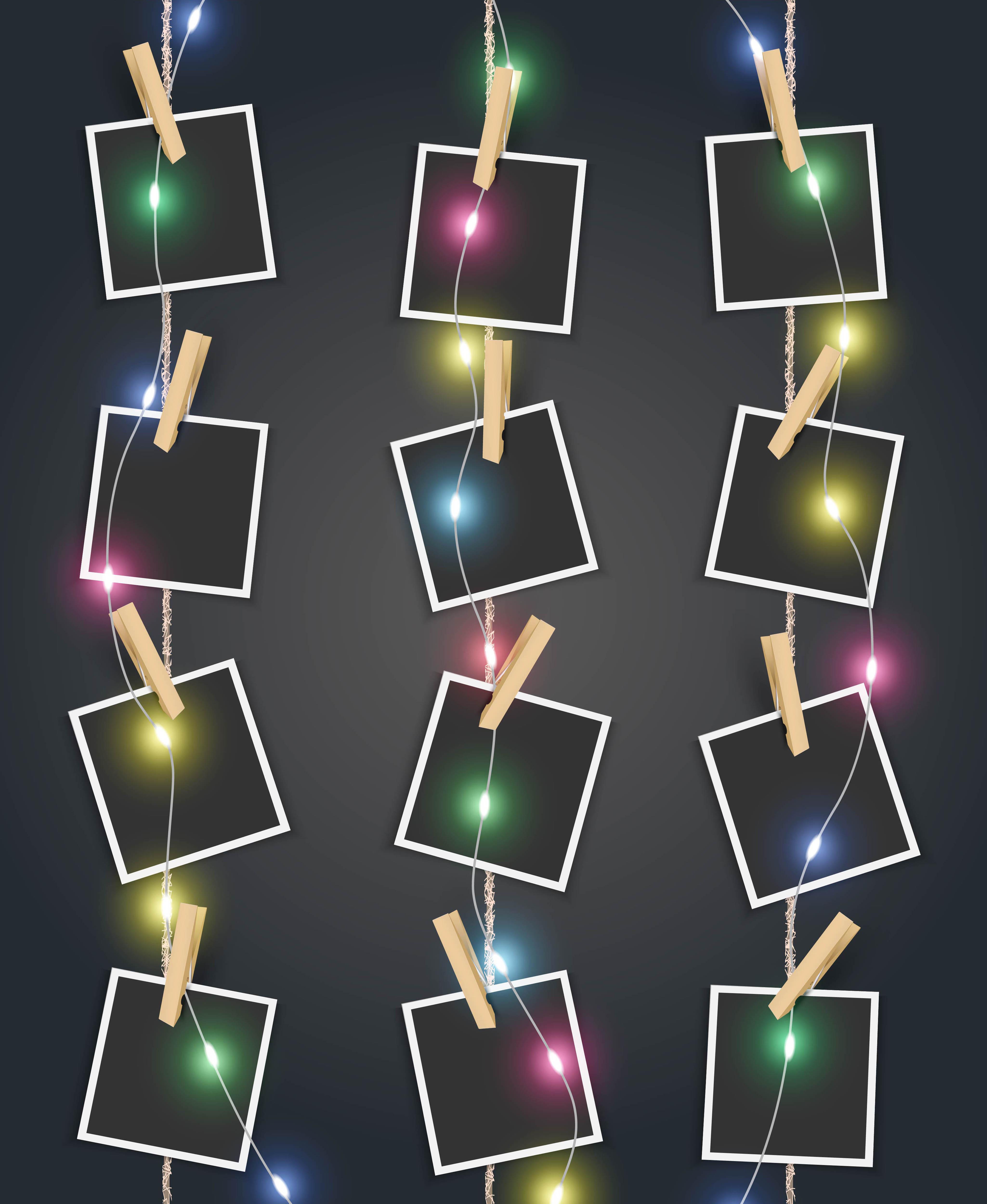 Идеи фоторамки своими руками со световым освещением