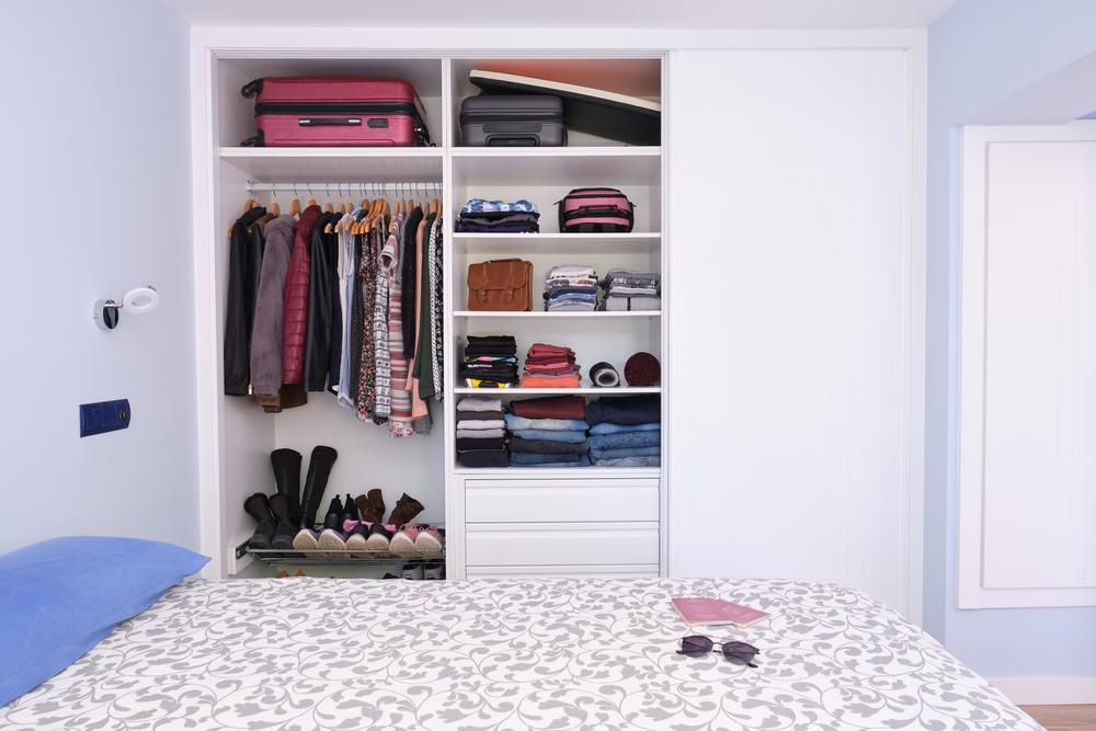 Дизайн гардероба для путешественников
