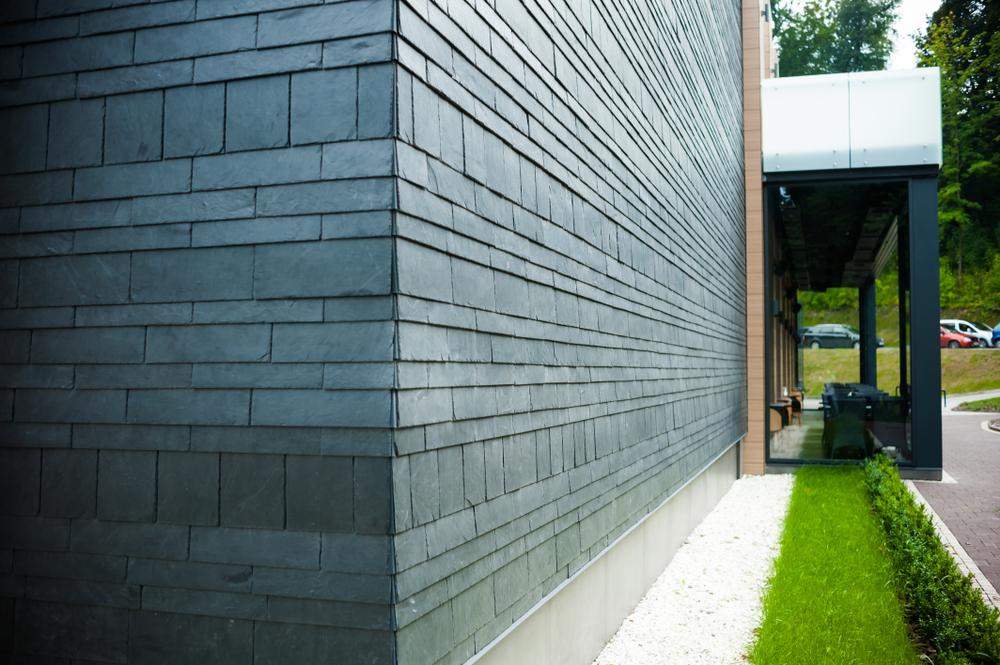 облицовка каменными стенами
