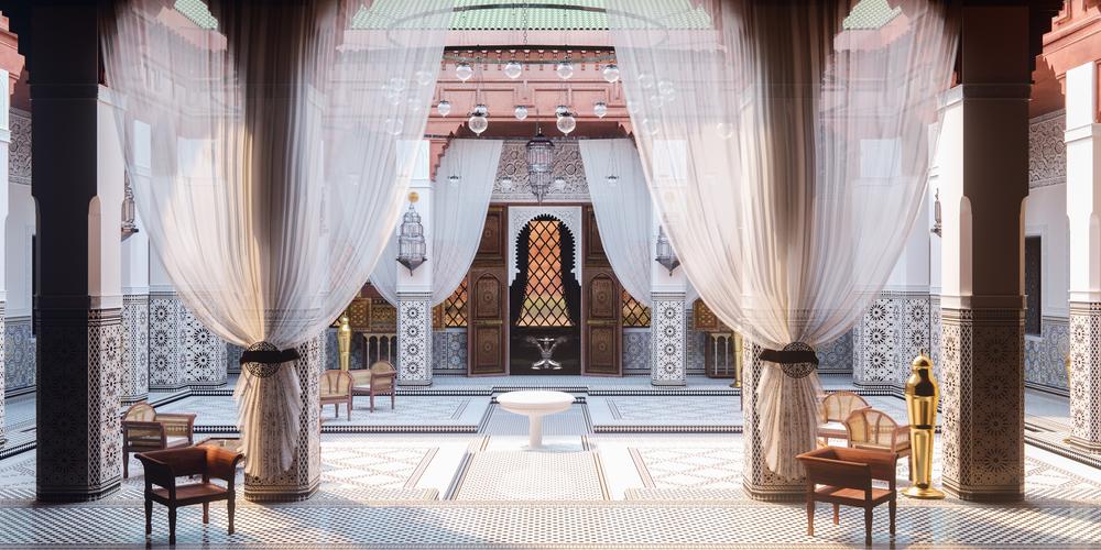 Марокканский стиль дизайна интерьера