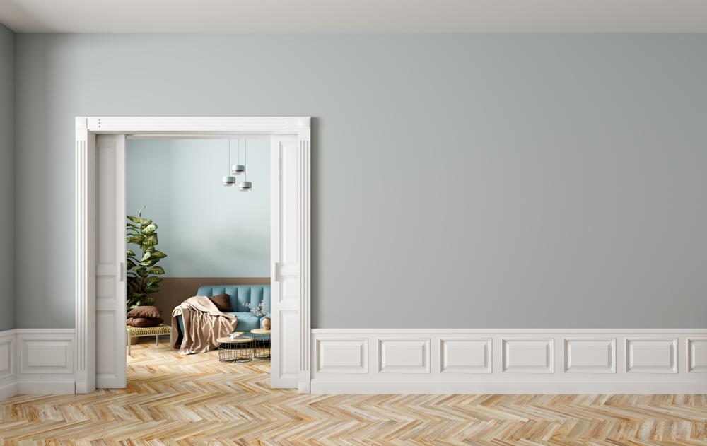 карманная дверь для компактных домов