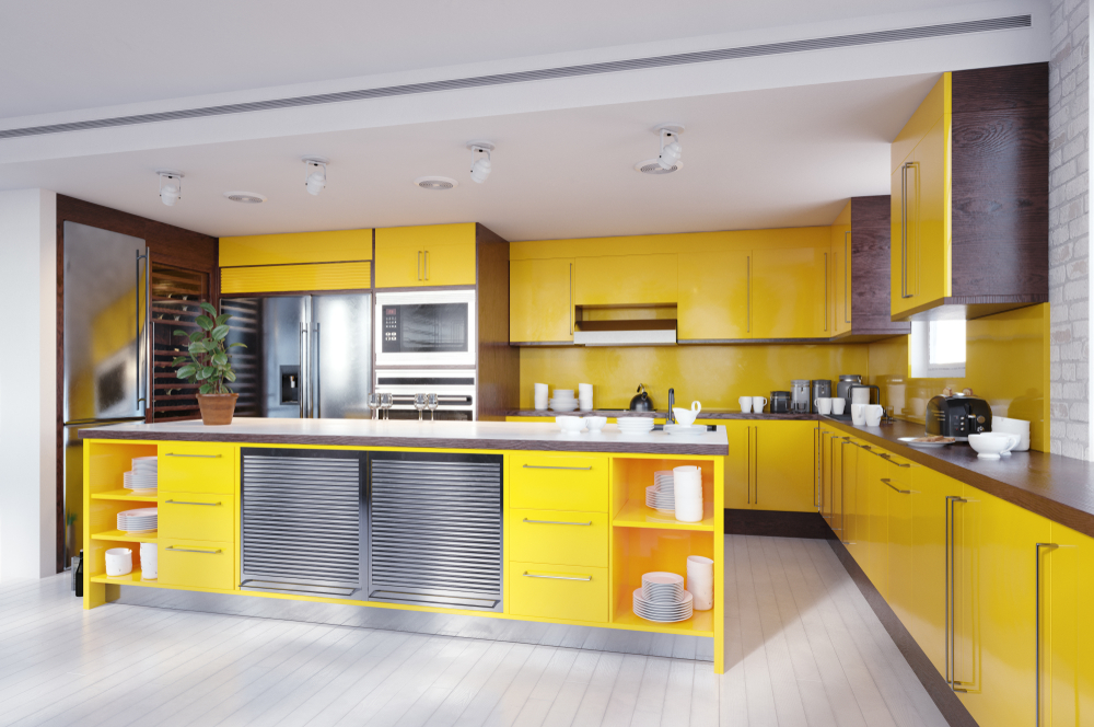 Васту кухня цвета