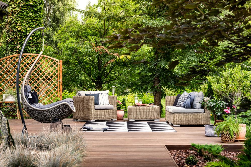 садовая мебель для террас