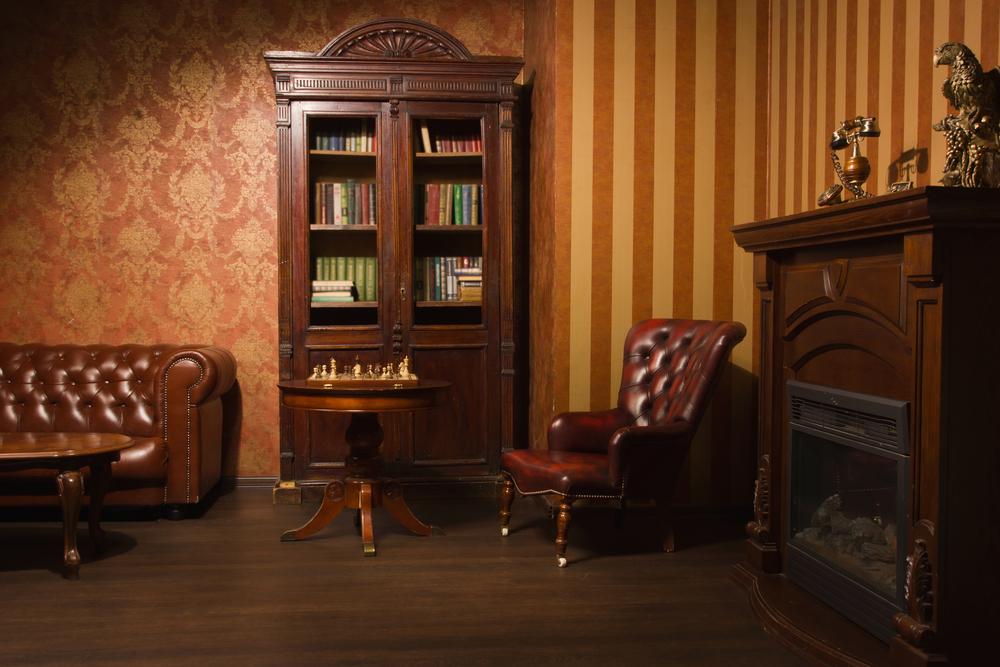 дизайны книжных шкафов