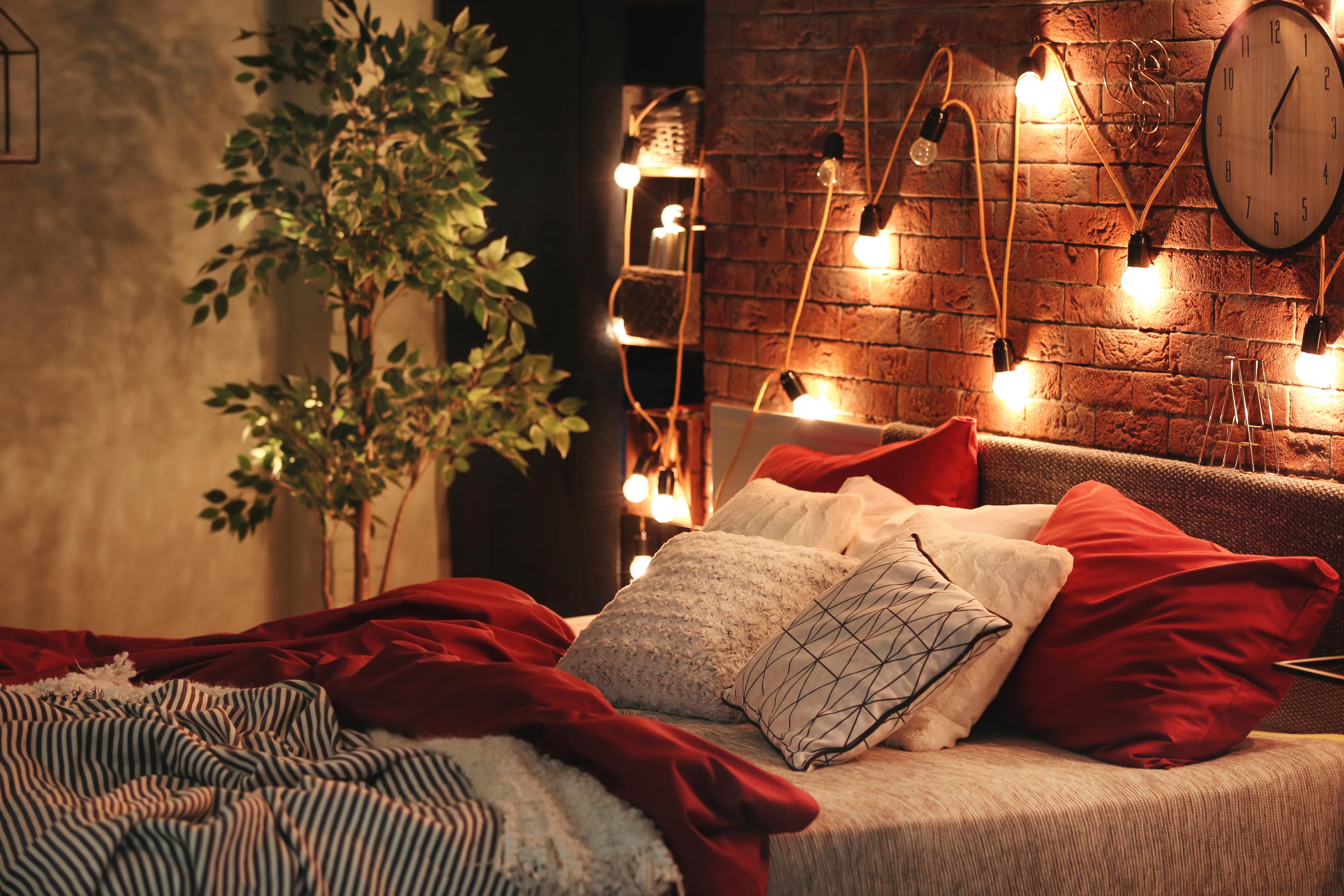 Романтический декор спальни