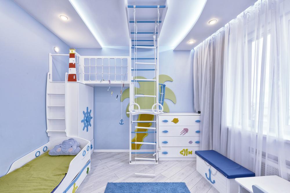 креативный дизайн гардероба для детей