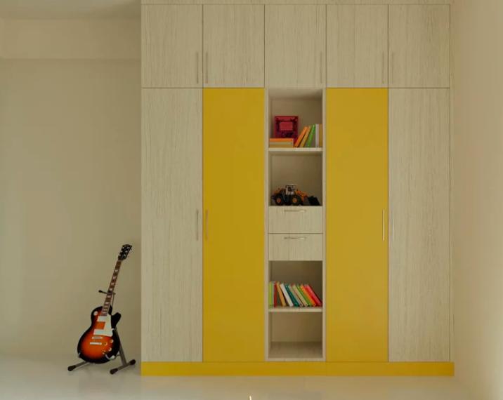 Дизайн гардероба для детей