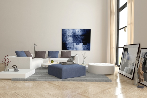 Домашний интерьер с искусством