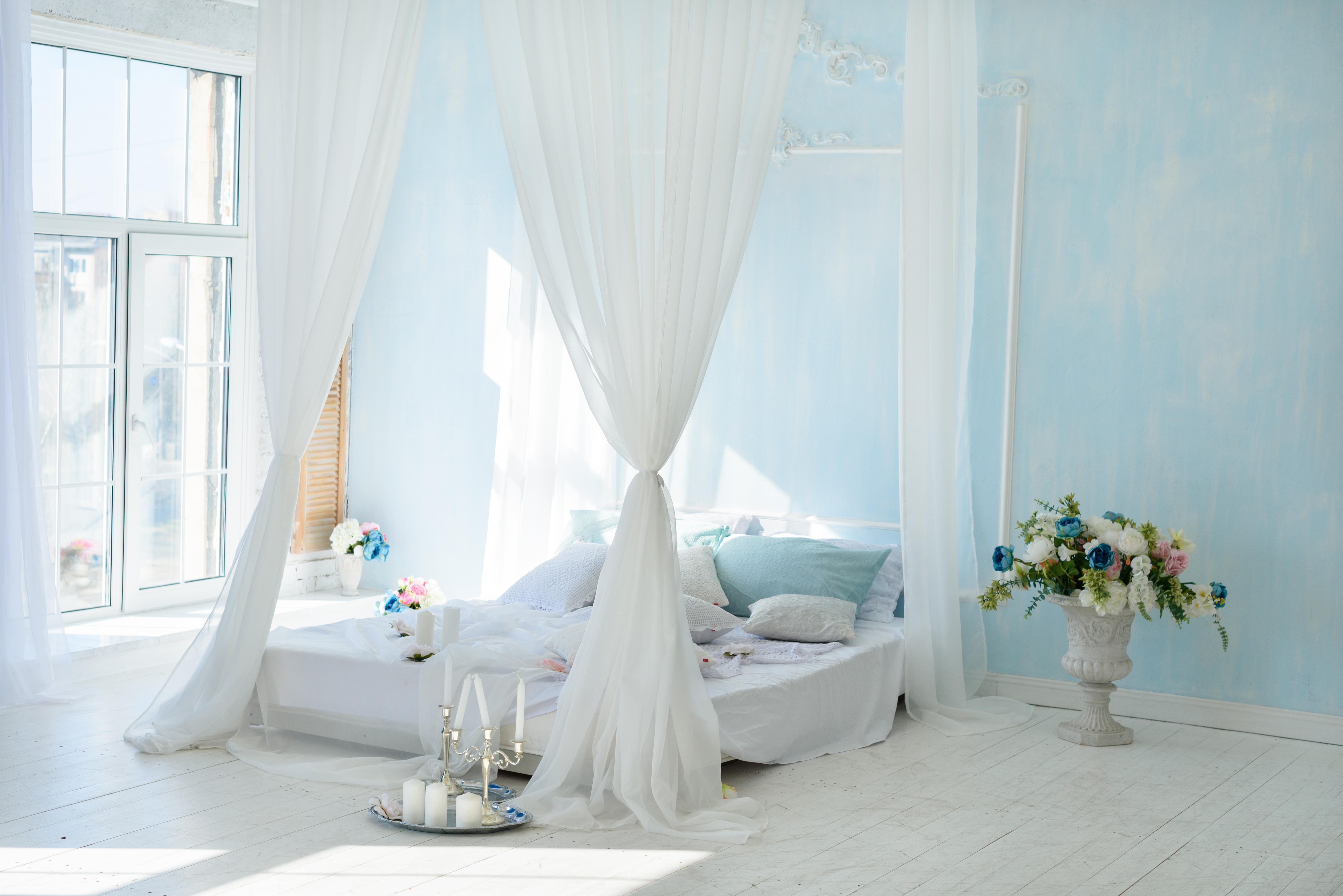 Идеи романтической спальни для пар